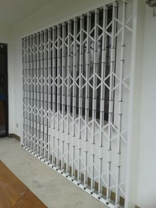 Fenster als 1 Gitter angefertigt