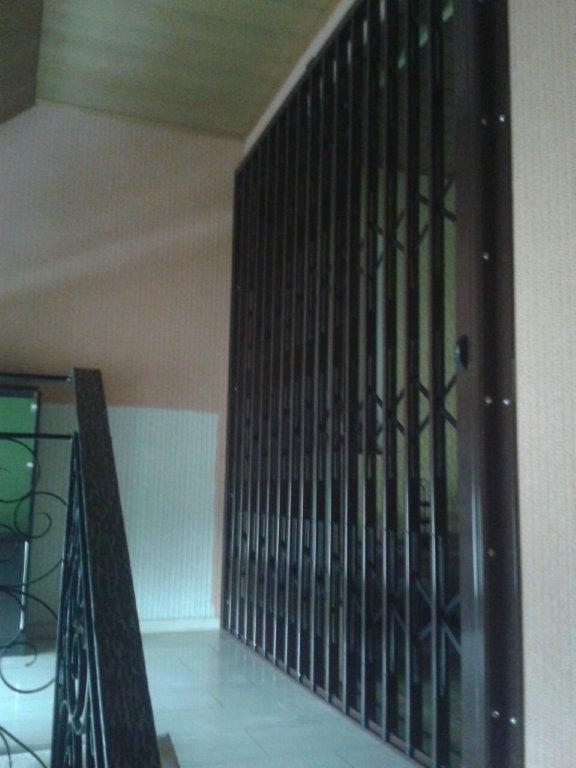 Einbruchschutz im Treppennaus