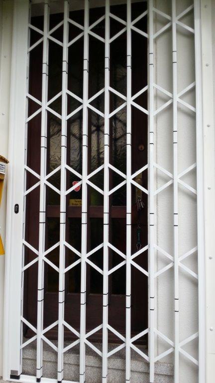 Scherengitter vor Haustüre in Zweibrücken