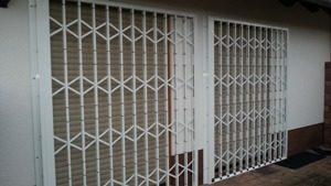 Scherengitter Balkontüren