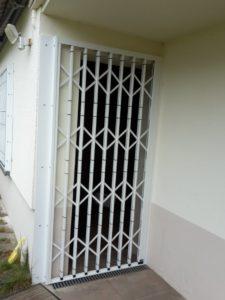 Kellergitter geschlossen in Merzig