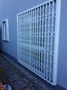 Scherengitter geschlossen Ormesheim