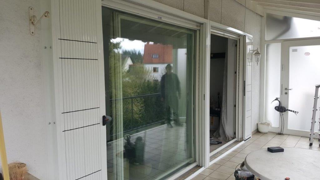 Installation Scherengitter DIN 1627 RC2
