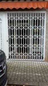 Sicherheitsgitter Eingang Blumengeschäft Rehlingen / Saarland