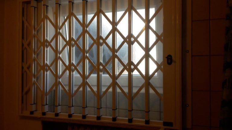 Innengitter vor WC Fenster Saarbrücken